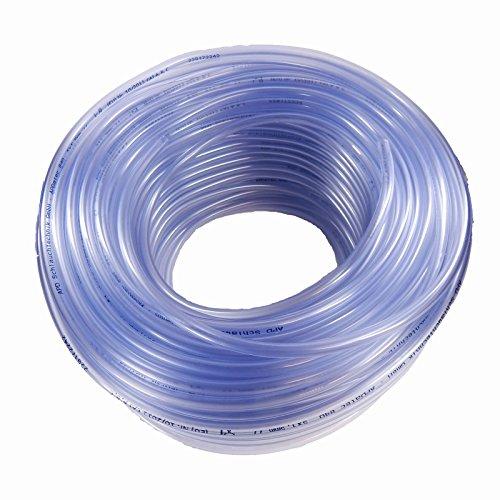 Tuyau en PVC transparent pour aquarium - Vendu au mètre - 5/9 mm
