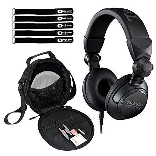 Best Prices! Technics EAH-DJ1200 Pro On-Ear Wired DJ Headphones Swivel-Mounted w Case Pack