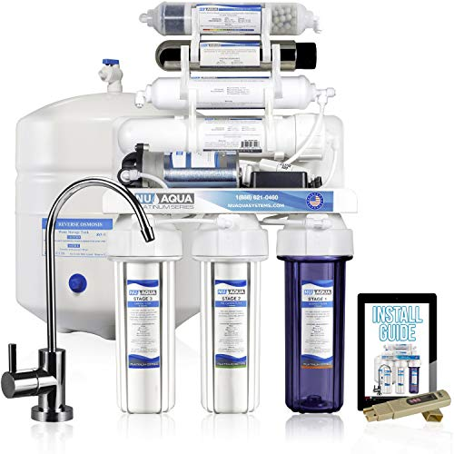 PREMIUM QUALITY U.S. BRAND: The NU Aqua Platinum Series has gone through rigorous development and testing in our lab to provide consistent great tasting, clean and healthy water on demand. Featuring professional grade high quality quick connect fitti...