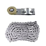JCMOTO 415 Chain and Chain Tensioner Roller Idler For 9cc 60cc 66cc 80cc...