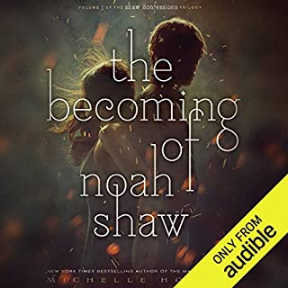The Becoming of Noah Shaw                   By:                                                                                                                                 Michelle Hodkin                               Narrated by:                                                                                                                                 Joe Jameson                      Length: 8 hrs and 15 mins     46 ratings     Overall 4.0