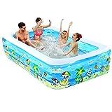 Piscina del patio trasero Piscinas inflables Piscinas, piscinas inflables for niños, familia piscina, centro de la nadada por niños, adultos, bebés, niños pequeños, al aire libre, jardín, patio traser