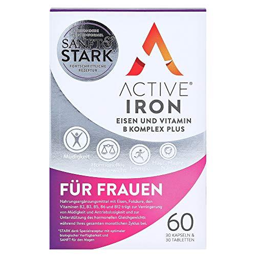 ActiveIron Eisen und Vitamin B Komplex Plus