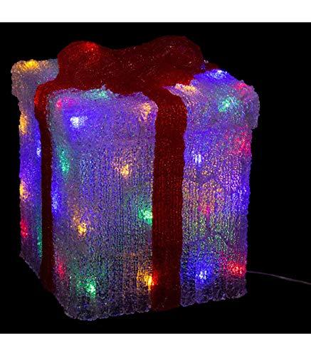 Fééric Lights and Christmas - Regalo luminoso, 50 l, H47