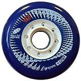 HYPER Des Rueda P. Urban Concrete+G 80-84 4UD patín, Hombre, Azul (Azul), 80/84
