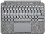 Microsoft Surface Go Signature Type Cover Platin Grau (Deutsches Tastaturlayout)
