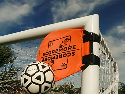 SCOREMORE Soccer Training Targets (Set of 4 + Free Bag)