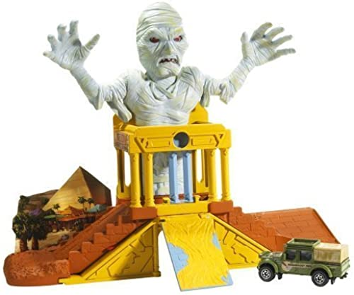 Matchbox voiture Mummys Treasure Playset Vehicle Trap
