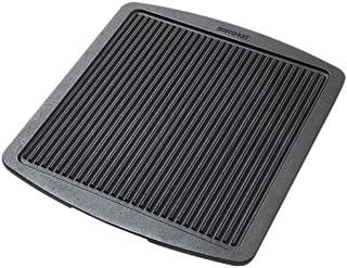 Skeppshult Cast Iron Roasting Plate, Black, 36.5 x 31.5 cm