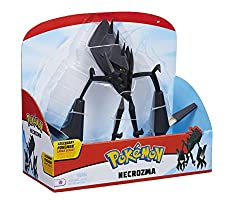 "Realistic articulation and 12"" Scale bring these Legendary Pokémon to life! Some think Neuroma arrived from another world many eons ago. When it emerges from its underground slumber it seems to absorb light for use as energy to power its laser-like b..."