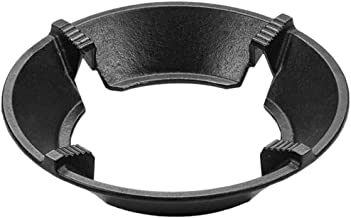 Minkissy 1 Set Cast Iron Wok Rack Gas Stove Wok Ring Stove Trivets Cooktop Range Pan Holder Stand for Gas Hob Home Kitchen...