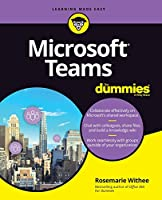 Microsoft Teams For Dummies Front Cover