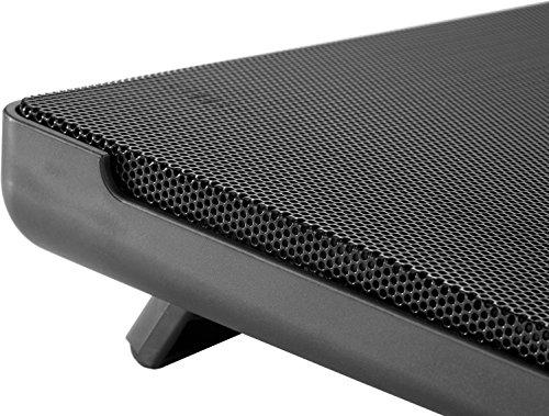 Cooler Master NotePal I300 Notebook-Kühler '160mm Lüfter, 2 Height Settings, Kompatibel mit bis zu 17 Zoll Laptops' R9-NBC-300L-GP