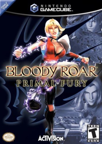 BLOODY ROAR PRIMAL FURY NINTENDO GAME CUBE