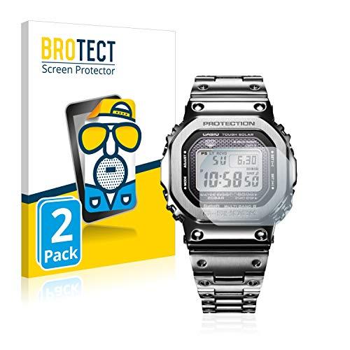 BROTECT 2X Entspiegelungs-Schutzfolie kompatibel mit Casio G-Shock GMW-B5000D-1ER Displayschutz-Folie Matt, Anti-Reflex, Anti-Fingerprint