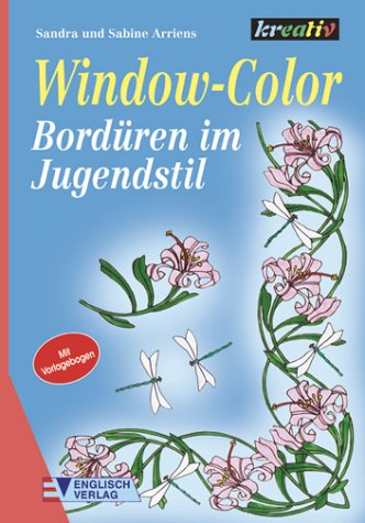 Window-Color, Bordüren im Jugendstil