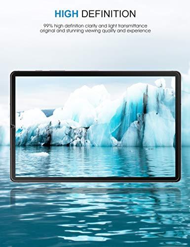 SPARIN (3 Stück) Panzerglasfolie Schutzfolie Kompatibel mit Samsung Galaxy Tab S6 / Tab S5e 10.5 Zoll, Einfache Installation