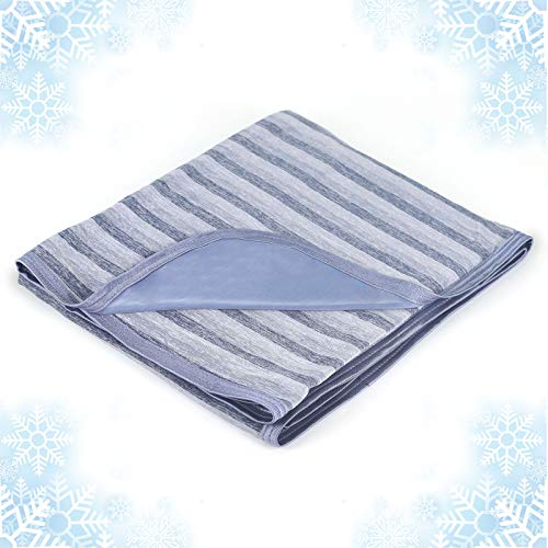 Cooling Blanket with Double Sided Cold, Queen Size Bed Blankets, Lightweight Breathable Summer Blanket Q-Max 0.441,Transfer Heat Keep Adults,Children Cool for Hot Sleepers Night Sweats,with Travel Bag