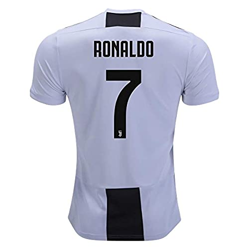 14cf2fad Marjorong New Juventus Stadium 2018/2019 7 Ronaldo Home Jersey Mens White