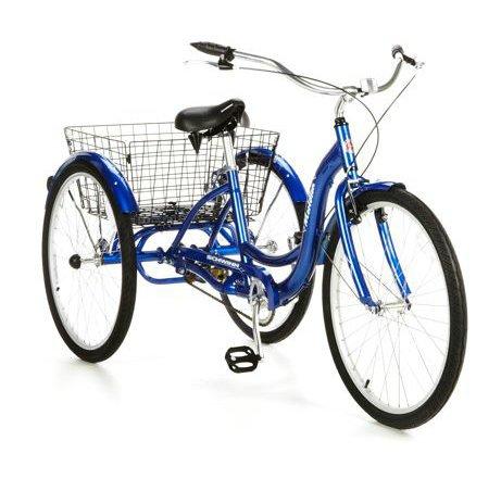 26' Schwinn Meridian Tricycle, Blue