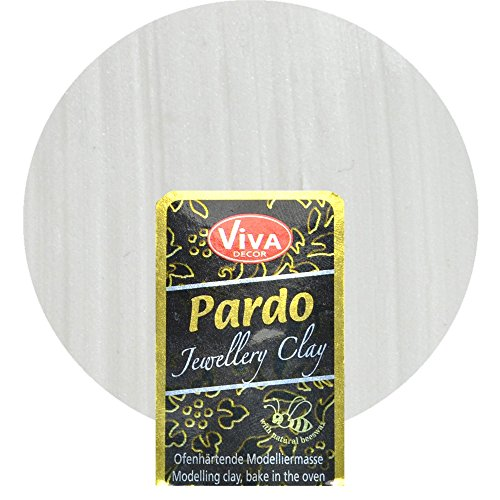Viva Decor GmbH Pardo Jewelry Clay 56g-Platinum