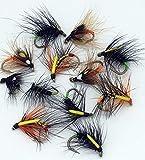 Fliegen Angeln Caddis Snatcher Starter Set 10/14Forelle Fliegen UK 12Fliegen Pack # 100,