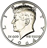 1964 P Silver Proof Kennedy Half Dollar Choice Uncirculated US Mint