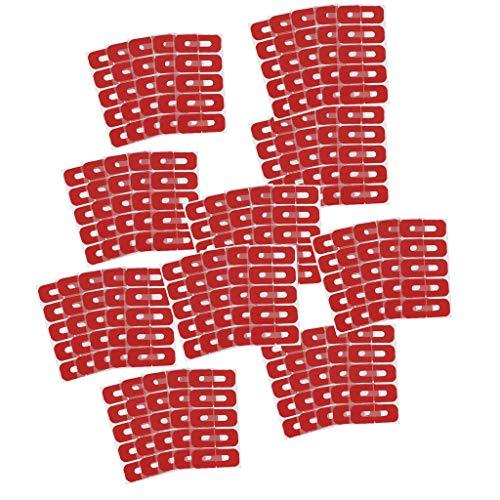 50 Stücke U Form Nagel Form Guide Aufkleber Nagellack Lackschutz Aufkleber Maniküre Werkzeug Elastische Spritzwassergeschützte Fingerabdeckung
