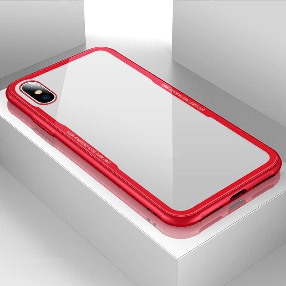 飢え娯楽鰐A 電話ケース対応iPhoneXケースPhone 8ケース防塵耐衝撃Phone 7 Phone 7/8、Phone 6 / 6s、Phone 6plus新しい D (Color : レッド, Size : IPhone 6plus/6splus)