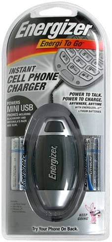 discount Energizer Energi-To-Go Battery Operated Instant MINI & MICRO USB Cell Phone Chargers sale outlet online sale Only sale