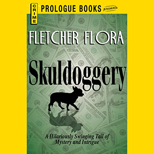 Skulldoggery audiobook cover art