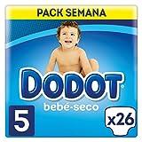 Dodot Bebé-Seco Pañales con Canales de Aire Talla 5, 11 a 16 kg - 26 Pañales