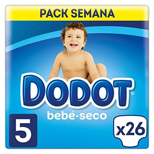 Dodot - Pannolini, taglia 5, per bambini da 11-17 kg, 26 pannolini