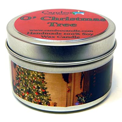 O' Christmas Tree, Super Scented Soy Candle Tin