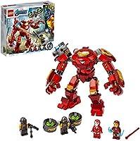 LEGO 76164 Marvel Los Vengadores Hulkbuster de Iron Man vs. Agente de A.I.M., Figura de Acción
