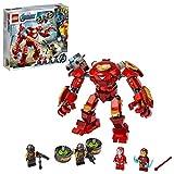 LEGO 76164 Marvel Los Vengadores Hulkbuster de Iron Man vs. Agente de A.I.M., Juguete de Construcción para Niños +8 años