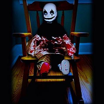 Haunted Halloween Rocking Chair