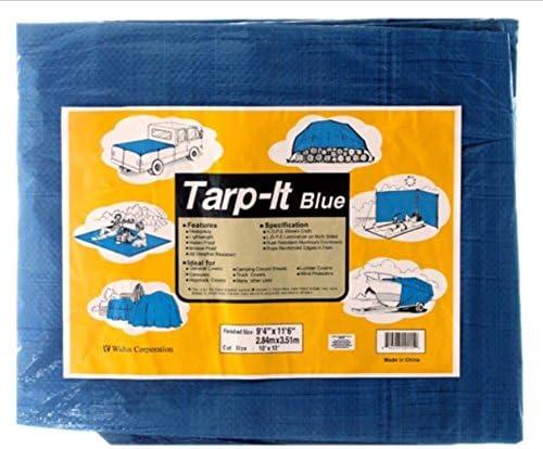 "wholesale Tarp-It popular Blue 10FT X 12FT. , Finished size new arrival 9'4"" X 11'6"" outlet online sale"