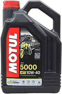 Motul 104056 5000 4T, 10 W-40, 4 L