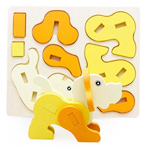 Puppy désassemblage Bois Puzzle Puzzle Dimensional (3-6 ans)