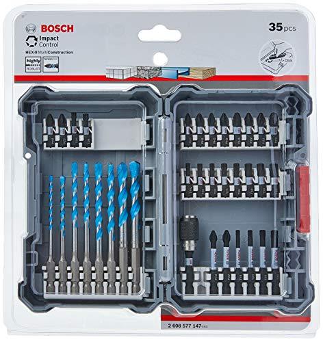 Bosch Impact Control Multi Construction Bohrer- und Schrauberbit-Set, 35-teilig 2608577147