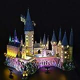 Seciie LED Licht-Set für Baustein Spielzeug, LED Licht Beleuchtung Kit Kompatibel mit 71043 Harry Potter Schloss Hogwarts (Modell Nicht Enthalten) - Deluxe Version