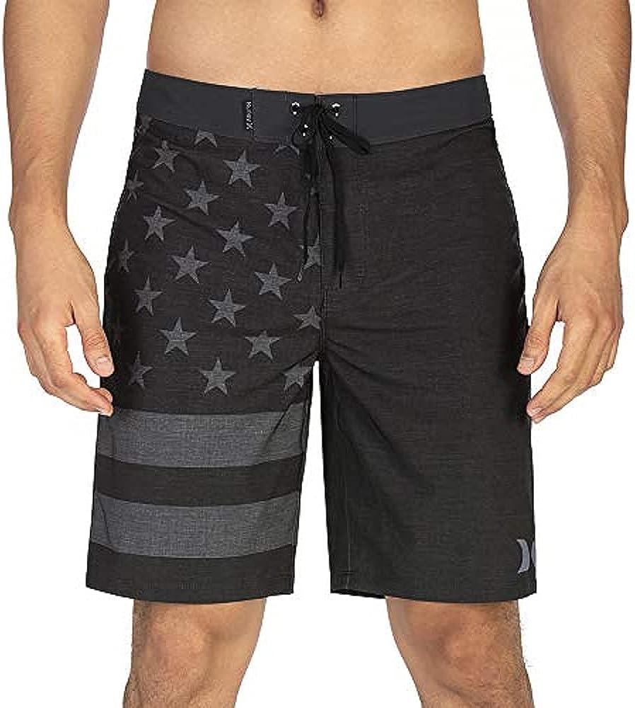 "Hurley Men's Phantom Patriot Cheers 20"" Board Shorts |"
