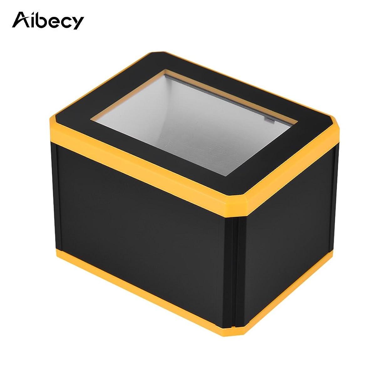 親愛な記念不名誉なAibecy 1D 2D QR 自動バーコードスキャナー 無指向性 USBバーコードリーダー 1300回/秒 モバイル支払い対応