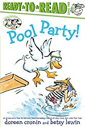 Pool Party! by Doreen Cronin and Betsy Lewin