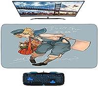 大型マウスパッドコンピューターアニメコミックゲームデーモンスレイヤーズブレードマウスマウスパッドキーボードパッド超大型防水、滑り止め、ファッショナブル、キュート、キュートグッズ700 * 400mm-A_700X400mm