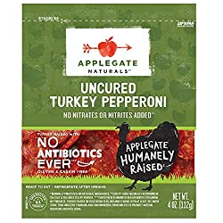 Applegate, Natural Uncured Turkey Pepperoni, 4oz