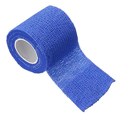 2.5/5 / 7.5 / 10cm * 5m effen kleur bandageset medische gezondheidszorg gaas tape beveiliging zelfklevend elastisch