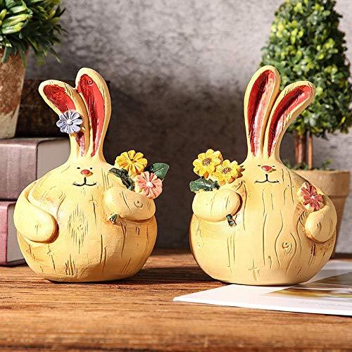 LYTBJ Esculturas Estatua Pequeña decoración Linda Gabinete de Vino Escultura de decoración de habitación de niños