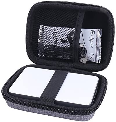 Étui Rigide Housse pour Canon Zoemini/Zoemini c/Zoemini s - Imprimante Photo Portable Von Aenllosi (Gris)